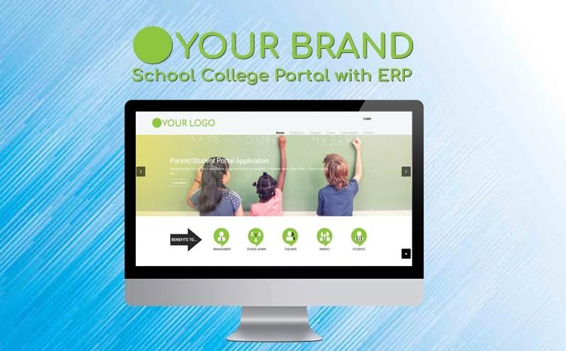 School College Portal with ERP