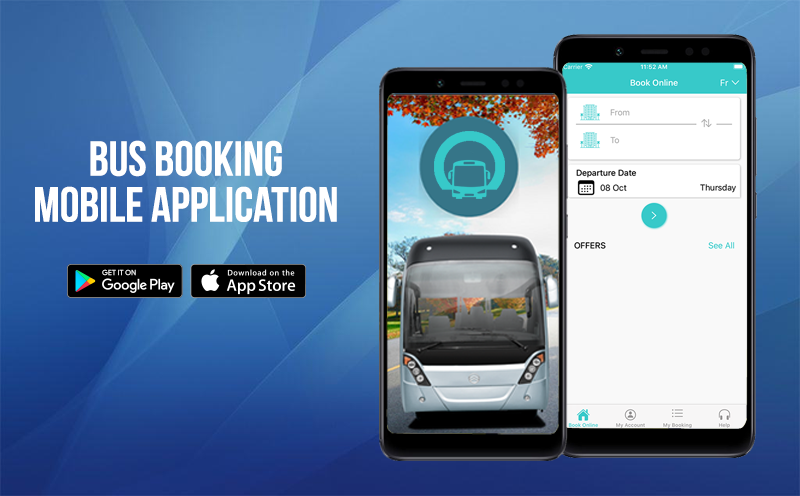 Bus Ticket Booking Application (Android & iOS)