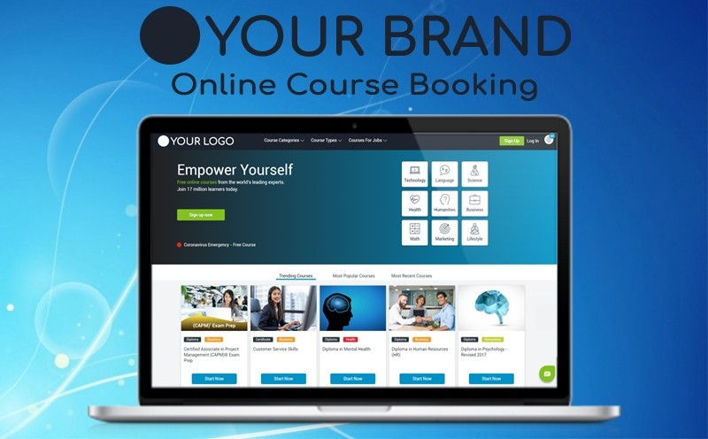 Online Course Booking